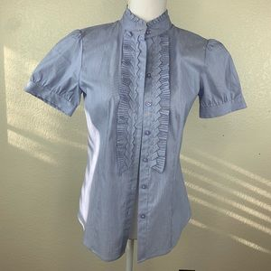 Antonio Melani cambray top / shirt / blouse